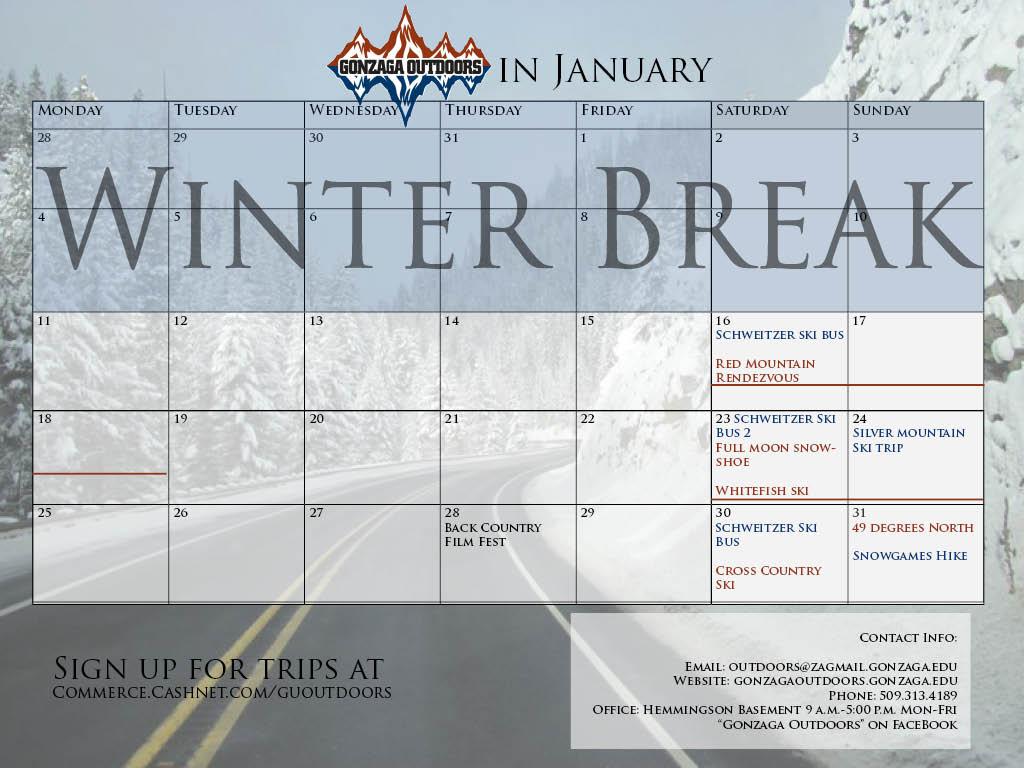 Calendar Jan 2016