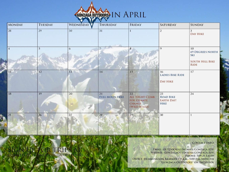 Calendar Mar 2016